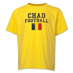 Chad Youth Football T-Shirt (Yellow)