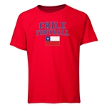 Chile Youth Football T-Shirt (Red)