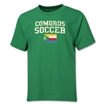 Comoros Youth Soccer T-Shirt (Green)