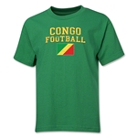 Congo Youth Football T-Shirt (Green)
