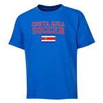 Costa Rica Youth Soccer T-Shirt (Royal)