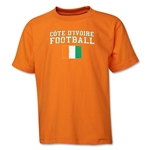 Cote d'Ivoire Youth Football T-Shirt (Orange)