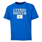 Cyprus Youth Soccer T-Shirt (Royal)
