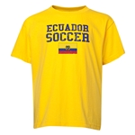Ecuador Youth Soccer T-Shirt (Yellow)