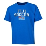 Fiji Youth Soccer T-Shirt (Royal)