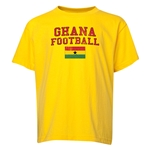 Ghana Youth Football T-Shirt (Yellow)