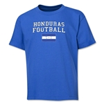 Honduras Youth Football T-Shirt (Royal)