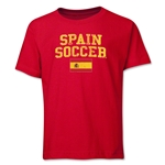Spain Youth Soccer T-Shirt (Red)