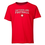 Switzerland Youth Football T-Shirt (Red)