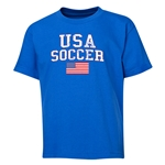 USA Youth Soccer T-Shirt (Royal)