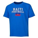 Haiti Youth Football T-Shirt (Royal)