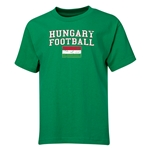 Hungary Youth Football T-Shirt (Green)