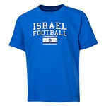 Israel Youth Football T-Shirt (Royal)