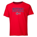 Norway Youth Football T-Shirt (Red)