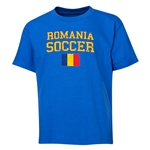 Romania Youth Soccer T-Shirt (Royal)