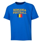 Romania Youth Football T-Shirt (Royal)