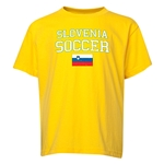 Slovenia Youth Soccer T-Shirt (Yellow)