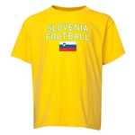 Slovenia Youth Football T-Shirt (Yellow)
