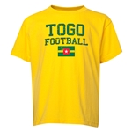 Togo Youth Football T-Shirt (Yellow)