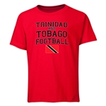 Trinidad & Tobago Youth Football T-Shirt (Red)