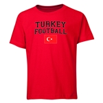 Turkey Youth Football T-Shirt (Red)