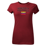 Venezuela Youth Football T-Shirt (Maroon)