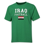 Iraq Youth Football T-Shirt (Green)