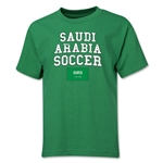 Saudi Arabia Youth Soccer T-Shirt (Green)