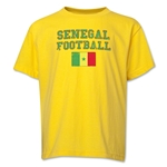 Senegal Youth Football T-Shirt (Yellow)