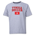 Tunisia Youth Soccer T-Shirt (Grey)