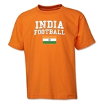 India Youth Football T-Shirt (Orange)