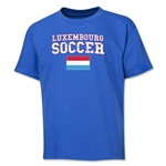 Luxembourg Youth Soccer T-Shirt (Royal)