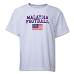 Malaysia Youth Football T-Shirt (White)
