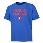 Nepal Youth Soccer T-Shirt (Royal)