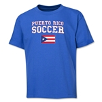 Puerto Rico Youth Soccer T-Shirt (Royal)