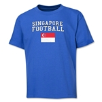 Singapore Youth Football T-Shirt (Royal)