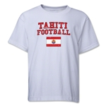 Tahiti Youth Football T-Shirt (White)