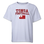 Tonga Youth Football T-Shirt (White)