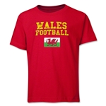 Wales Youth Football T-Shirt (Red)