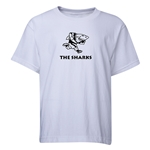 Sharks Youth Rugby T-Shirt (White)
