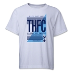 Tottenham THFC Youth T-Shirt (White)