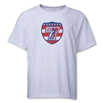 USA Sevens Rugby Youth T-Shirt (White)