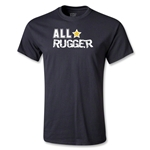 All Star Rugger Youth T-Shirt (Black)