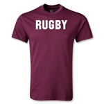 RUGBY Youth T-Shirt (Maroon)