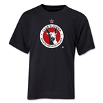 Xolos de Tijuana Youth T-Shirt (Black)