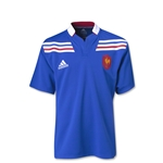 France 12/13 Youth Home SS Rugby Jersey