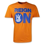 Brine Reign On T-Shirt (Orange)