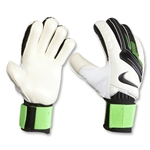 Nike GK Spyne Pro Goalkeeper Glove (White/Green)