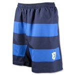 Pele Sports Contrast Stripe GD Soccer Shorts (Blue)