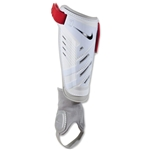 Nike Protegga Shield Shinguard (White/Red/Black)